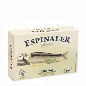 Baby Sardines in Olive Oil Xeito 8/10 RR125 – Premium Espinaler
