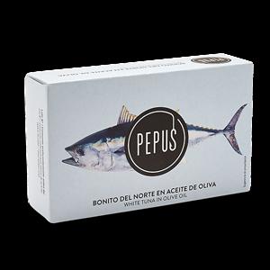 White Tuna in Olive Oil OL-120 – Pepus