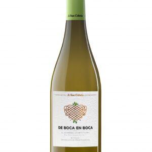 De Boca en Boca White Wine 2019 0,75cl- San Cebrín