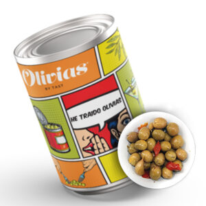 Marinated Olives Classic Can 4.25 kg – Olivias
