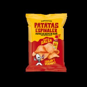 Spicy Potato Chips Bag 125g- Espinaler