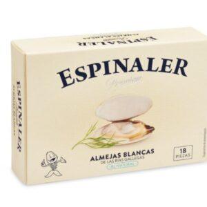 White Clams 18/20, 14/16, 12/14, 10/12, 40 ,30 OL-120/ RO-280 – Premium Espinaler