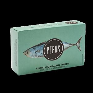 Light Tuna in Vegetable Oil RR-900 – Pepus
