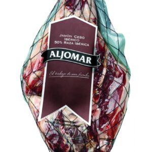 Cereal-Fed Iberico Pork Ham Boneless 50% Iberico Breed 3-5kg- Aljomar