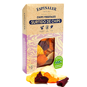 Mixed Vegetable Chips 80g- Espinaler
