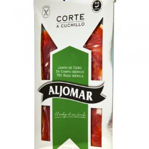 Iberico Pork Ham Natural Range Feed 75% Ibérico Breed Handcut 100g – Aljomar