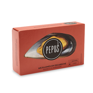 Mussel in Pickled Sauce (Big) OL-120 – Pepus