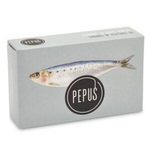 Sardine in Vegetable Oil OL-120 – Pepus