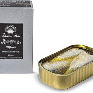 Sardines in Olive Oil 3/5  115g- Ramon Peña