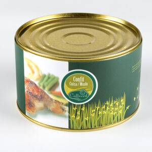 Canned Duck Gizzards 20 uts 1 kg- Collverd