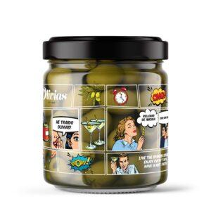 Marinated Olives Jar 370g- Olivias Classic