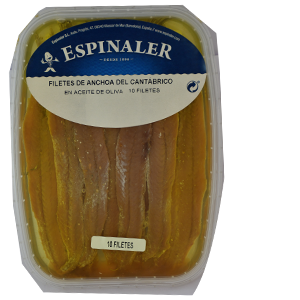Anchovy in Olive Oil 10F Platter – Espinaler