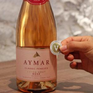 Aymar Rosé Extra Brut Reserva 2017 0,75cl- Aymar