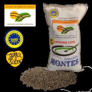 Pardina Tierra de Campos Lentils 1kg- Legumbres Montes