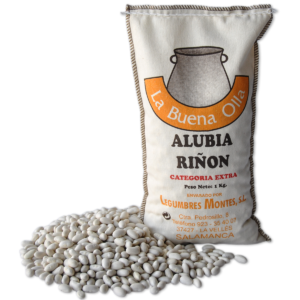 White Kidney Beans 1kg- Legumbres Montes