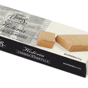 History Creamy Almond Nougat 150g – Torrons Vicens