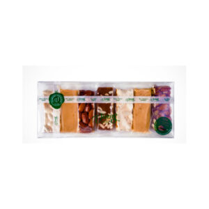 Assorted Sugar Free Portioned Nougat 7x35g – 245g – Torrons Vicens