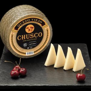 Chusco Sheep Raw Milk Aged Cheese 250g/ 750g/ 950g/ 1,5kg/ 3kg- Quesos Cerrato