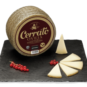 Pasteurized Sheep Milk Cured Cheese 250g/ 750g/ 950g/ 1,5kg/ 3kg- Quesos Cerrato