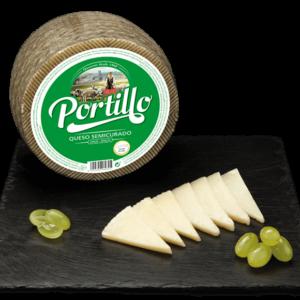 Semi Cured Portillo Cow-Sheep Cheese 250g/ 750g/ 950g/ 1,5kg/ 3kg- Quesos Cerrato