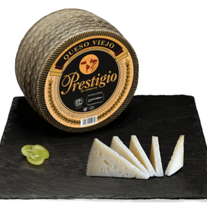 Prestigio Pasteurized Milk Aged Sheep Cheese 250g/ 750g/ 950g/ 1,5kg/ 3kg- Quesos Cerrato