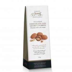 Tucanias Milk Chocolate Nougat 100g – Torrons Vicens