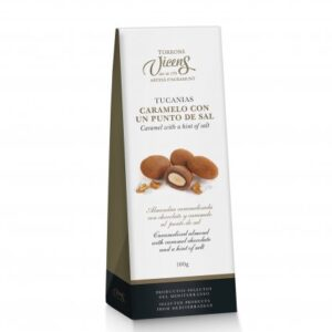 Tucanias Salted Caramel Chocolate 100g – Torrons Vicens