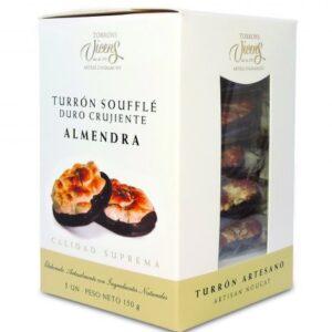Almond Soufflé Nougat (Chocolate base) 5x30g – Torrons Vicens