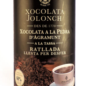 Stone Ground Chocolate Grated 60% Cocoa 500g – Torrons Vicens