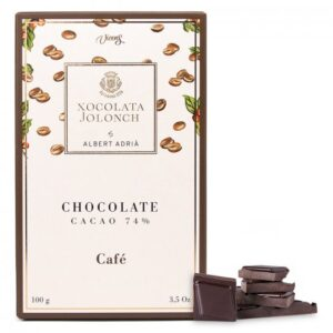 Dark Chocolate with Coffee 100g – Torrons Vicens