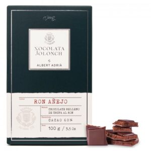 Chocolate with Truffle Ron 100g – Torrons Vicens