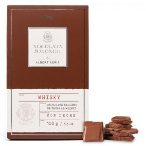 Milk Chocolate with Truffle Whisky 100g – Torrons Vicens