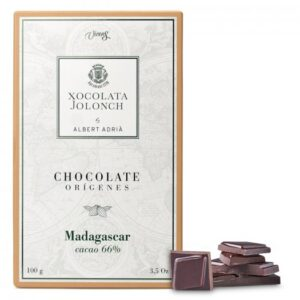 Dark Chocolate with 66% of Cocoa Madagascar Origins 100g – Torrons Vicens