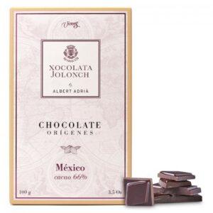 Dark Chocolate with 66% of Cocoa México Origins 100g – Torrons Vicens