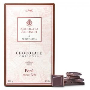 Dark Chocolate with 72% of Cocoa Perú Origins 100g – Torrons Vicens