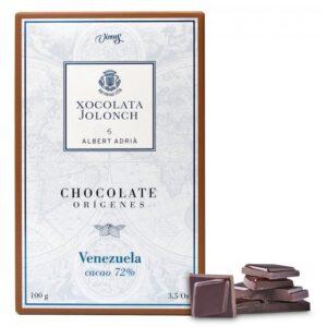 Dark Chocolate with 72% of Cocoa Venezuela Origins 100g – Torrons Vicens