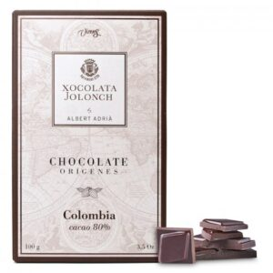Dark Chocolate with 80% of Cocoa Colombia Origins 100g – Torrons Vicens