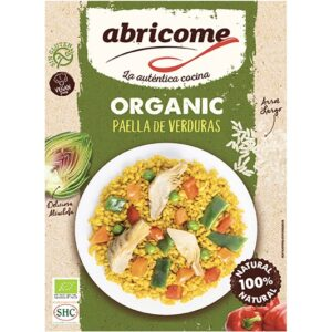 Organic paella with vegetables – Abricome