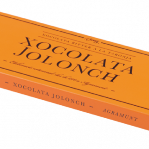 Bitter chocolate with orange case Jolonch 100 gr – Torrons Vicens