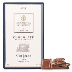 Milk Chocolate and Coco with Salt 100g – Torrons Vicens