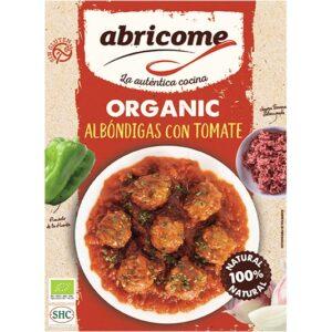 Organic meatballs with tomato – Abricome