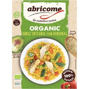 Organic brown rice with vegetables – Abricome