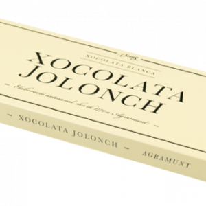 White Chocolate Case Jolonch 100g – Torrons Vicens