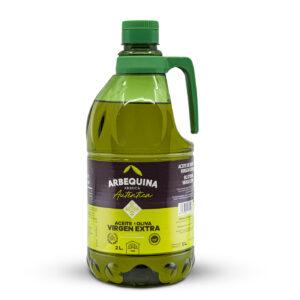 EXTRA VIRGIN OLIVE OIL ARBEQUINA NATURAL CARAFE 2L