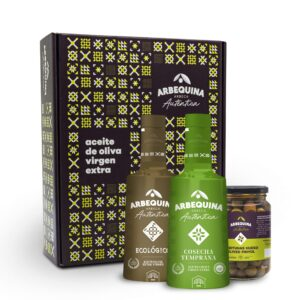 EXTRA VIRGIN OLIVE OIL ARBEQUINA EARLY HARVEST-ECOLOGICAL BOX 2U 500ML