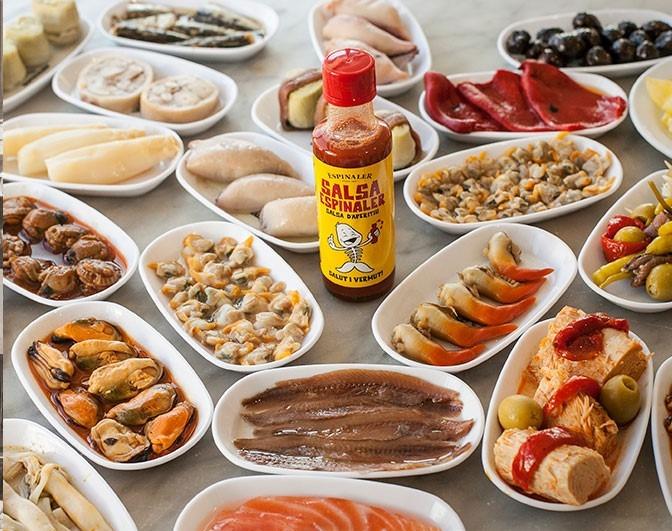 Spanish seafood and tapas Espinaler