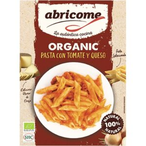 Organic pasta with tomato and cheese – Abricome